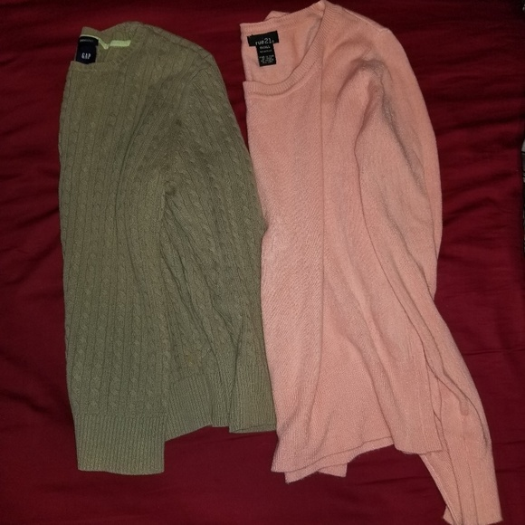 Lot of sweaters